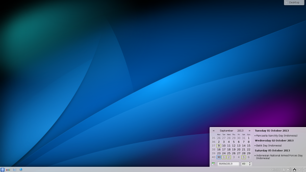 KDE SC on BlankOn