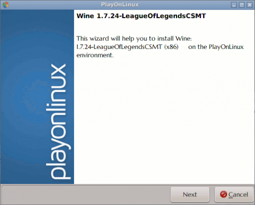 PlayOnLinux-WINE version Installer - 00 Intro