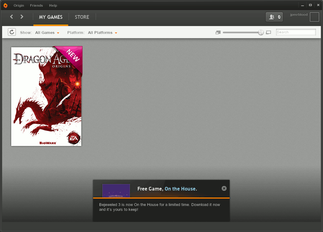 Origin (EA Game Downloader) pada GNU/Linux