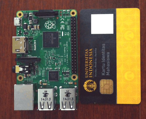 This time Raspberry Pi 2 really is on a card form factor
