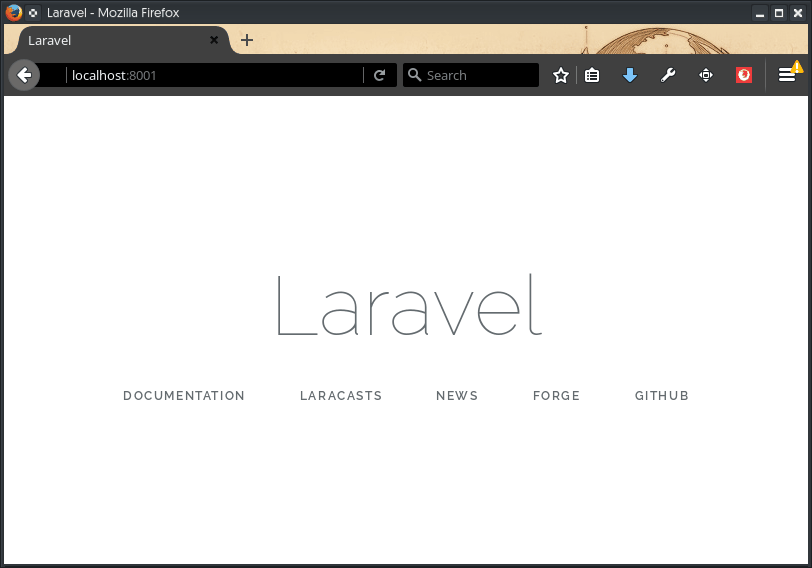 Laravel first-app.