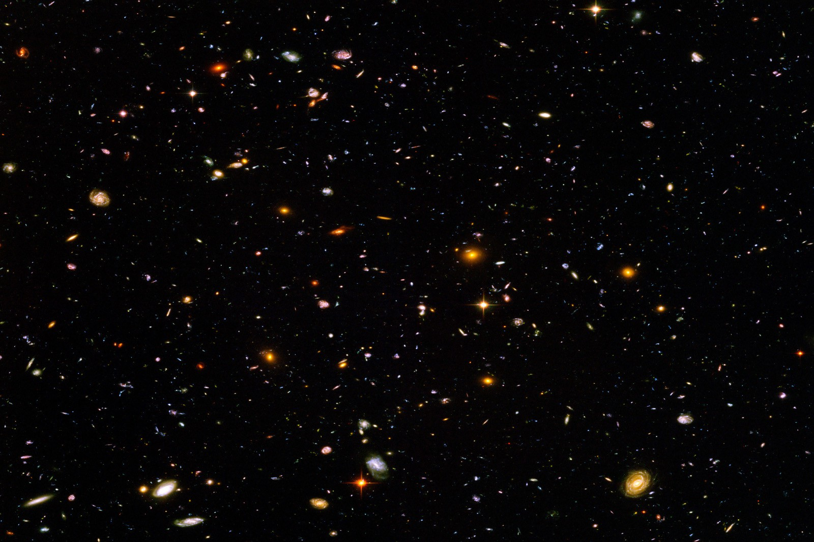 Hubble Ultra Deep Field Full-Resolution 2014 - Pics about ...